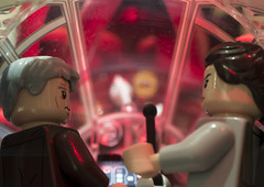 This is not how I thought this day was going to go (tomtommilton) Tags: lego toys toyphotography macro starwars hansolo rey theforceawakens millenniumfalcon rathtar diorama marvel drstrange movie