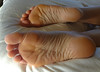 DSC04001-1 (thermosome) Tags: wrinkled soles mature feet foot milf