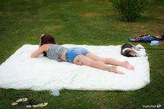 Rveil en douceur (AngelsPixel) Tags: tatoo tatouage sieste campagne portrait rveil sommeil