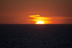 gonna be a great day (-gregg-) Tags: sunrise cruise ship ocean water clouds