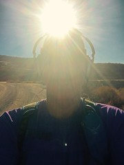 Sunlight (Blue Rave) Tags: diamondvalleylake hemet california biking lake trail iphonephotography iphoneography 2016 osprey ospreyescapist32 backpack self myself ego me bloke dude guy male mate people selfie boseheadphones headphones headset