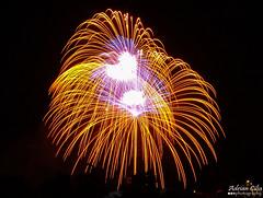 Malta --- Hal Ghaxaq --- Fireworks (Drinu C) Tags: adrianciliaphotography sony dsc hx100v malta halghaxaq fireworks shells colours feast night longexposure fire