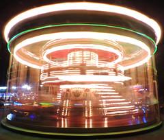 Passage of time (fmariamartin) Tags: merrygoround carousel light nikoncoolpixp530 night tiovivo luz