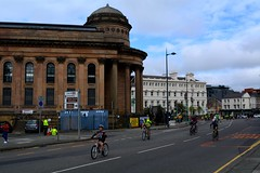Riders going along Gt George St (James O'Hanlon) Tags: skyride sky ride liverpool 2016 skyrideliverpool