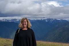 Joanne- Hurrican Ridge (Bingo3362) Tags: washington joanne olympicnationalpark nationalpark mountain hurricaneridge