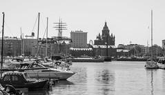 Marina & Uspenski Cathedral (Jori Samonen) Tags: marina boats ships masts water sea buildings ferris wheel uspenski cathedral helsinki finland sony ilce3000 e 1855mm f3556 oss sonyilce3000 e1855mmf3556oss sonyilce3000e1855mmf3556oss pier