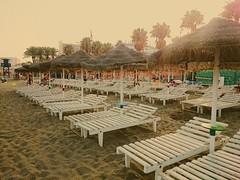 Hammocks beach (Cris__CG) Tags: benalmádena playa beach hammocks hamacas mar sea blanco white arena sand sombrillas sunshadows costadelsol