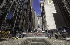 Check point Charlie (C@mera M@n) Tags: broadsteet city citylife financialdistrict manhattan ny nyc newyork newyorkcity newyorkphotography places stockexchange urban wallstreet outdoor urbanlife