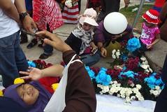 Malaysia 59th National Independence Day (Chot Touch) Tags: ricohgxr kualalumpur malaysia malaysiastreetphotographer flowers merdekaparade merdekasquare dataranmerdeka festivalofcolors sehatisejiwa streetphotography