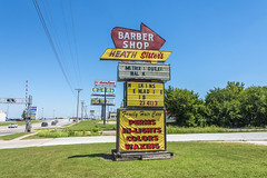 On the road in America (philippe*) Tags: arkansas roadside signs