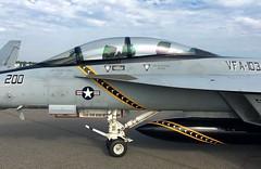 166620 F/A-18F VFA-103 AG-200 (RedRipper24) Tags: 166620fa18fvfa103ag200 166620fa18f fa18f fa18fvfa103 vfa103jollyrogers nasoceana kntu apollosoucekfield fa18 fa18hornet nasoceanaairshow nasoceana2016airshow