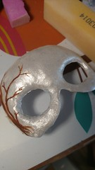 Ice queen mask