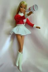 VINTAGE MOD SUNSET MALIBU FRANCIE BARBIE DOLL w/ CHEERLEADER OUTFIT (laika*2008) Tags: vintage mod sunset malibu francie barbie doll w cheerleader outfit