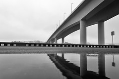Porto - Portugal (Francisco (PortoPortugal)) Tags: 1782016 20121009fol7771002 pb bw ponte bridge pontedofreixo riodouro douroriver porto portugal portografiaassociaçãofotográficadoporto franciscooliveira