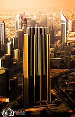 Tower among the towers - Dubai - United Arab Emirates (D. Pacheu) Tags: tower tour pacheu building dubai uea united arab emirates gratteciel