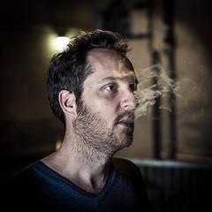 #etienneperrone #portrait #night #smoke (etienne.perrone) Tags: etienne perrone etienneperrone
