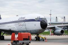 Lufthansa D-ABOB #2 (dustin.hackert) Tags: aircraft airport aviation b707 boeing boeing707 dabob eddh flughafen flughafenhamburg fuhlsbttel ham hamburg hamburgairport hamburgairportfriendsev hamburgintercontinentaljet707