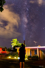 Milky Way during Puerto Rico blackout. (CarlosJRoman) Tags: canon tamron long exposure milky way night manfrotto 7d