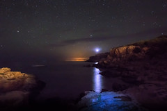 Far des Moscater (Porschista) Tags: portinatx eivissa balears far faro lighthouse noche nit night moscater