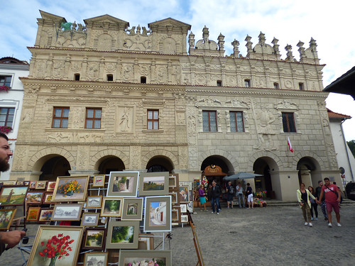 Kazimierz-Dolny - market square. (2)