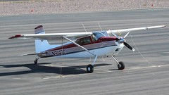 Cessna 180 N9147C (ChrisK48) Tags: 1954 aircraft airplane cessna180 dvt kdvt n9147c phoenixaz phoenixdeervalleyairport cn31246