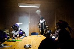 (Peter de Krom) Tags: black sinterklaas smoke smoking pete piet zwarte