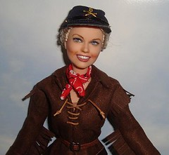 Doris Day as Calamity Jane (swipernooswiping) Tags: barbie musical 1950s calamityjane dorisday broadwaymusical fashionroyalty matteldoll celebritydoll dorisdaydoll