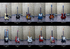 electric beauties (partisanart) Tags: red black holland 1969 vintage 1974 1971 big 1982 bass dot fender sound ddr bronco sunburst jaguar mustang strat lespaul stratocaster 170 1965 epiphone gitarre egmond squier electricguitar musicmaster eguitar jagstang fendermustang uitar klira duosonic bigsound fenderbronco squiersupersonic egmond7 bigsound1982 squierduosonic egmondmodel3