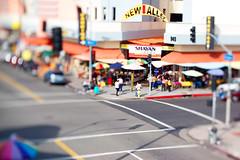 Downtown LA (aerocott) Tags: d50 50mm la miniature diy losangeles nikon market downtownla dtla tiltshift santeealley