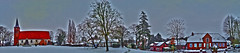 Protestant Vicelin Church St. Jakobi, Bornhoved - 180° winter panorama view -/ Evangelische Vicelinkirche St. Jakobi zu Bornhöved - 180° Panoramablick im Winter (EmoHoernRockZ) Tags: winter panorama church kirche 2012 hendrik stjacobi stjakobi bornhoeved iphone5 bornhöved vicelin emohoernrockz hoernrockz nychenne bornhoved nychennecom stvicelin