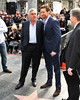 Hugh Jackman, Jay Leno Hugh Jackman is honoured with a Hollywood Star on the Hollywood Walk of Fame Los Angeles, California