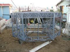 LEM Set Up 18 (arizona model aircrafters) Tags: up set museum for display florida aviation naval lunar pensacola excursion module permanent lem