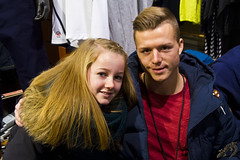 Casper Sloth og en Fan (Appaz Photography ☯) Tags: fodboldspiller agf århus denmark jylland aarhus caspersloth city town by danmark