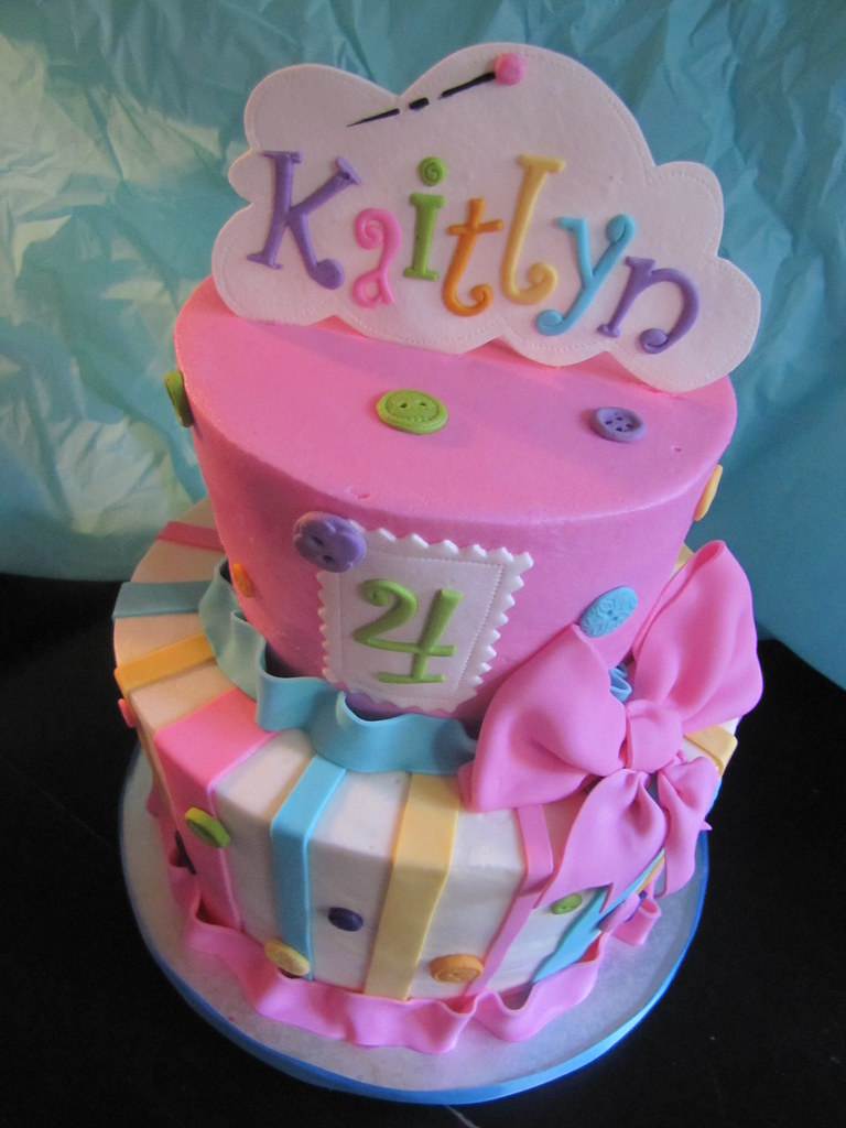 Lalaloopsy Cake Cakes Infinity Jessica Tags Pink Blue Green Yellow