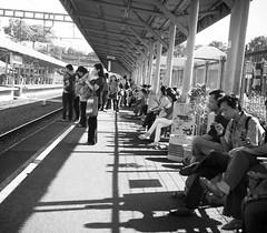 L1033978 (bwibowo) Tags: leica indonesia waiting trainstation serpong leicam8 rawabuntu