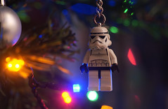 52/52 - Christmas Tree (S Cansfield) Tags: christmas decorations macro tree project lights star nikon lego bokeh figure stormtrooper week wars bauble challenge 52 d1x
