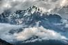 Mountain Peaks in Nepal (CamelKW) Tags: nepal mountain skies annapurna annapurnatrek mountainpeaks mountaintrekking mountainsandskies mountainpeaksinnepal