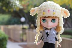 Sheep Helmet for Blythe
