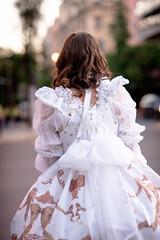 Ornamental Prelude (Made in Plute) Tags: chile pink santiago white classic fashion rose umbrella sweet pirates lolita bow crown alive alameda headdress