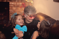(Rebecca812) Tags: family grandma portrait woman cute brick girl sunglasses children reindeer fun funny child sweet candid joke grandkids granddaughters grayhair youngatheart activesenior multigenerationfamily reallifemoment animalrepresentation canon5dmarkii rebecca812