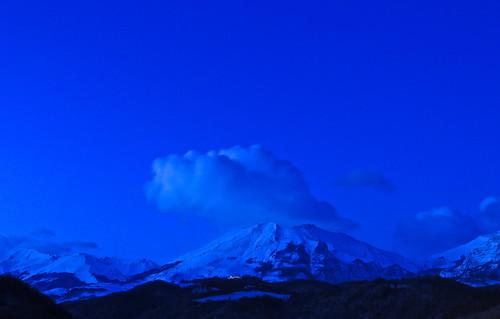 L'Alba dei Sibillini.... (rospex) parco nuvole alba cielo neve monti nazionale sibillini