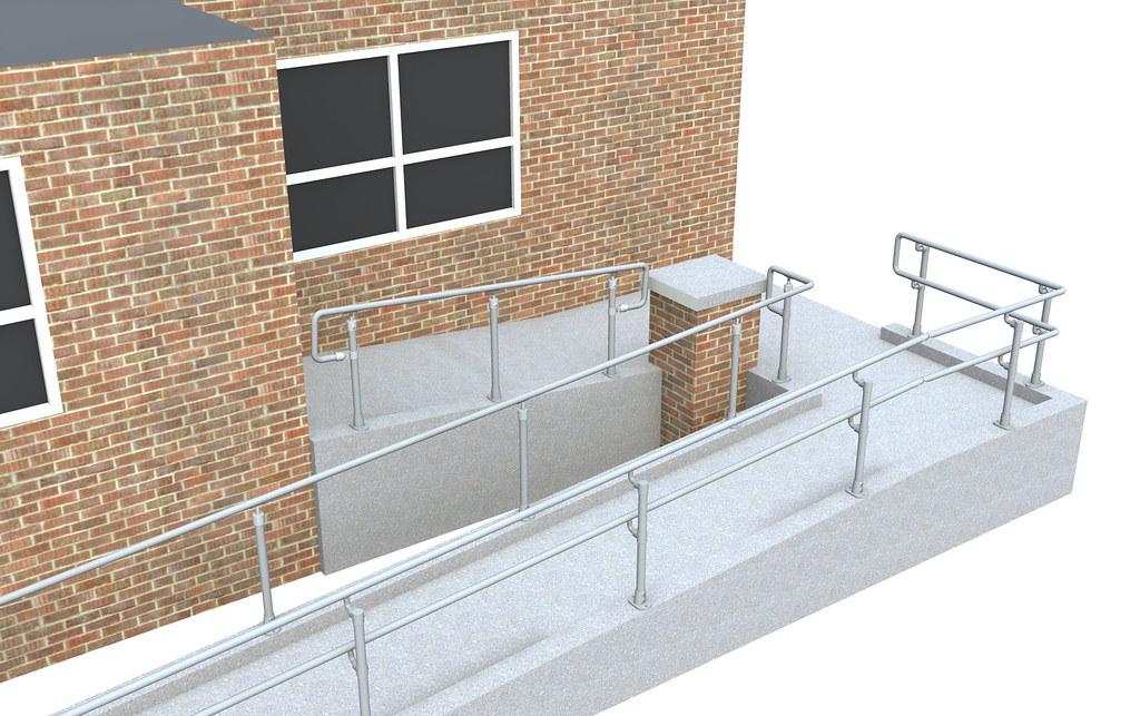 DDA handrail guide - DDA principles and howto guide