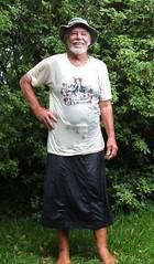 Wetted cotton, linen over silk. (Jack Williams) Tags: male men wet fun freestyle kilts skirts meninskirts wetlook skirted frolics menstuff