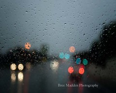 In The Rain (MaddenPhotography) Tags: storm water rain night dark lights drops bokeh stormy outoffocus mysterious waterdrops