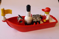 LEGO Steam boat V2 1 (Elsie esq.) Tags: toy lego build constructional