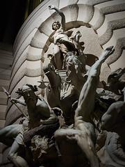 Power at the Sea. Vienna, Austria. (Alexey Subbotin) Tags: vienna wien travel history fountain digital ed austria olympus 12mm highiso фотограф mzuiko poweratthesea alexeysubbotin алексейсубботин