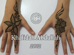 Henna Art by Khalidah Abdullah (khalidahabdullah) Tags: design henna hennaart   khalidahabdullah