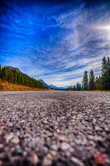 Rockie's roads (Kasia Sokulska (KasiaBasic)) Tags: road canada mountains fall landscape alberta rockymountains