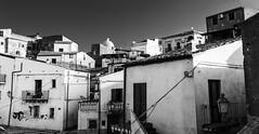 Cariati (_e.Ferrari_) Tags: panoramica bianco nero calabria vecchio paese sopra cariati