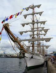IMG_1670 (Paco Gonzlez1) Tags: puerto muelle corua barco cuttysark 2012 velero tallshipsrace trasatlantico